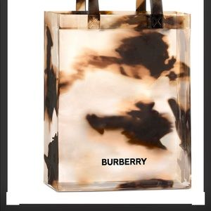 Burberry beauty tote bag new new